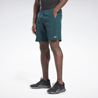 Men Training Green Speed Shorts