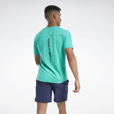 Remera estampada Speedwick Move Verde Hombre HIIT