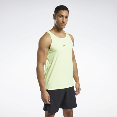 Men Pilates Yellow Les Mills® Regular Fit Tank Top