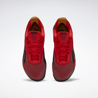 Men Cross Training Red Reebok Nano X Shoes