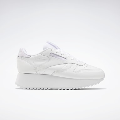 Kvinder Classics White Classic Leather Double Shoes