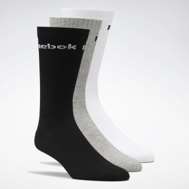 Fitness & Training White Active Core Crew Socks 3 Pairs