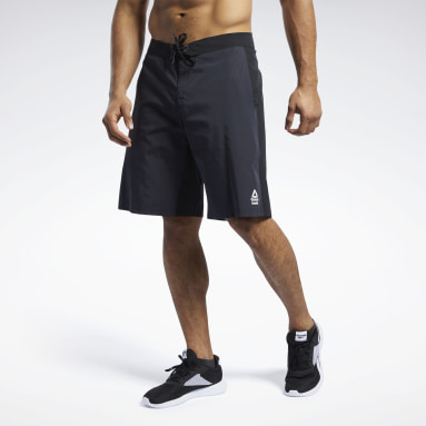 Men Cross Training Black Reebok CrossFit® Epic Cordlock Tactical Shorts