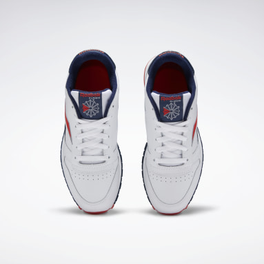 Boys Classics White Classic Leather Shoes