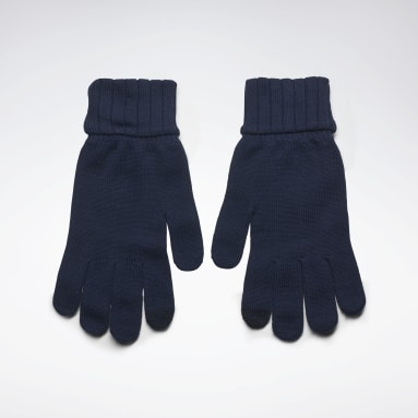 Fitness & Training Blue Active Foundation Knit Gloves