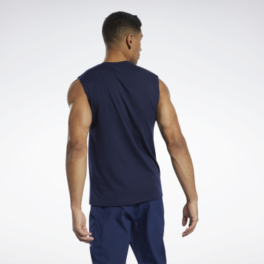 Men Studio Blue Les Mills® BodyPump® Tank Top