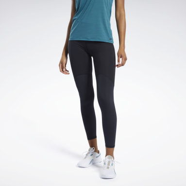 Women Fitness & Training Black Reebok PureMove Leggings Motion Sense ™