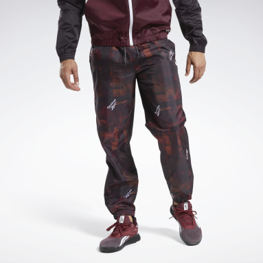 Men Training Burgundy MYT Jogger Pants