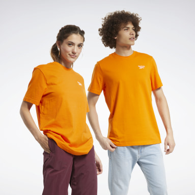 Classics Orange Classics Small Vector Tee