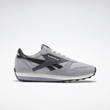 Men Classics Grey Classic Leather AZ Shoes