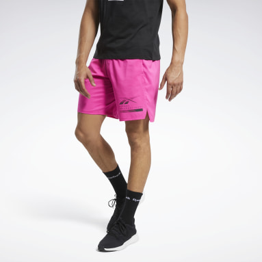 Men Training Pink Epic Lightweight Shorts