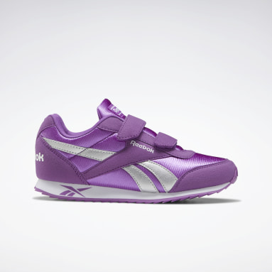 Girls Classics Purple Reebok Royal Classic Joggers 2 Shoes