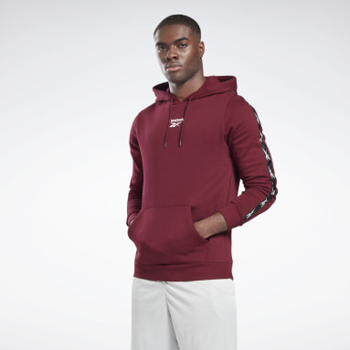Sweat à capuche Training Essentials Tape Bordeaux Hommes Fitness & Training