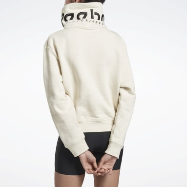 Buzo VICTORIA BECKHAM Cropped Cowl Marrón Mujer Fitness & Training