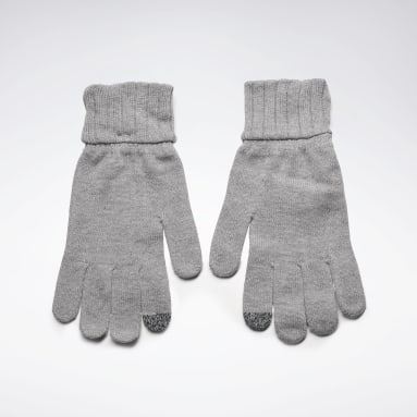 Fitness & Training Grey Active Foundation Knit Gloves