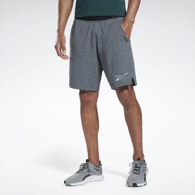 Men Training Black Activchill+Cotton Shorts