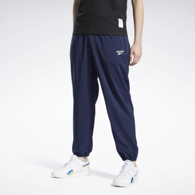 Men Classics Blue Classics Commercial Woven Pants