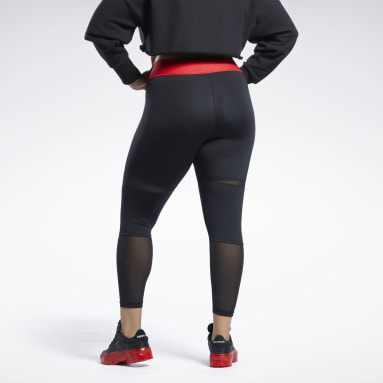 Women Classics Black Cardi B 7/8 Tights (Plus Size)