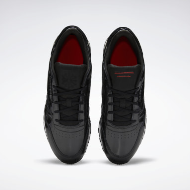 Classic Leather Negro Mujer Classics