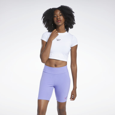 CL WDE TIGHT SS TOP Blanco Mujer Classics