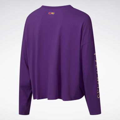 Classics Purple Reebok by Pyer Moss Long Sleeve T-Shirt