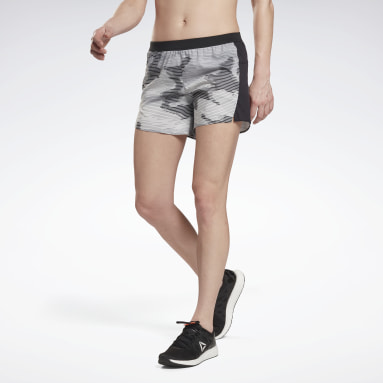 "Shorts Run Essentials 5"" Blanco Mujer Running"