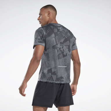 Remera One Series Running SS Gris Hombre Running