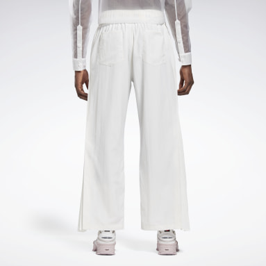 Classics White Reebok by Pyer Moss Pleated Joggers