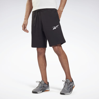 Men Fitness & Training Black Training Essentials French Terry Shorts