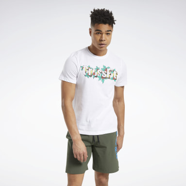 Men CrossFit White Reebok CrossFit® Holiday Tee