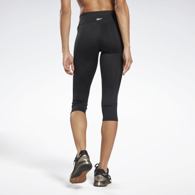 Women Yoga Black Workout Ready Pant Program Capri Tights