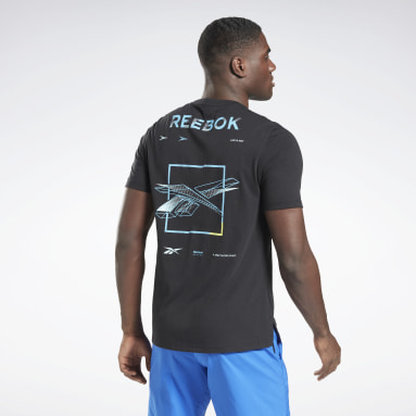 Men Fitness & Training Black Speedwick Move T-Shirt