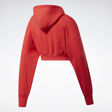 Women Classics Classics Cropped Heavyweight French Terry Hoodie