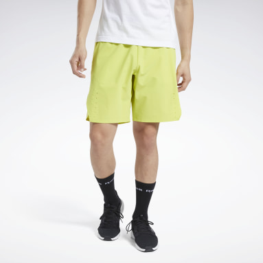 Men Training Yellow United By Fitness Epic Shorts