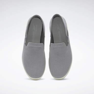 Women Casual Grey Cotton & Corn Slip-On Shoes