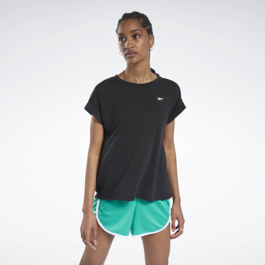 WOR SUPREMIUM DETAIL TEE Negro Mujer Fitness & Training