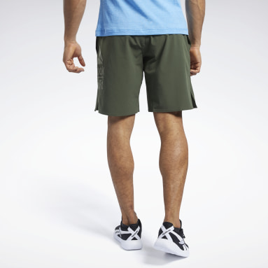 Short Reebok CrossFit® Epic Base Large Branded Vert Hommes Cross Training