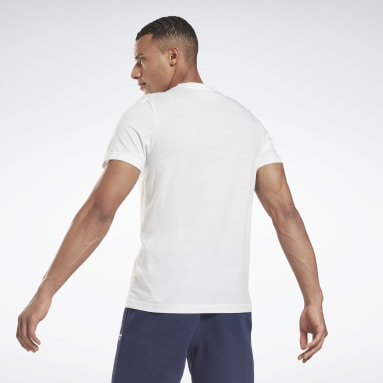 T-shirt Elevated Graphic Blanc Hommes Fitness & Training