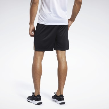 Men Yoga Black Workout Ready Shorts