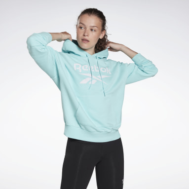 Women Fitness & Training Reebok Identity Logo French Terry Hoodie