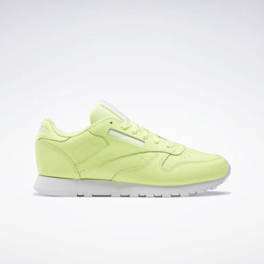 Women Classics Yellow Classic Leather Shoes