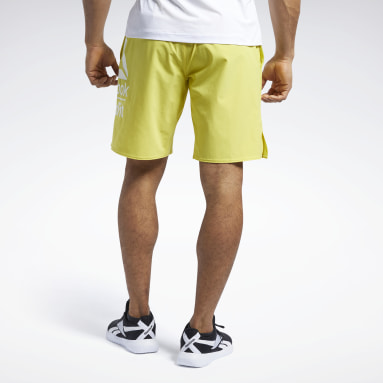 Heren CrossFit Geel Reebok CrossFit® Epic Base Large Branded Short