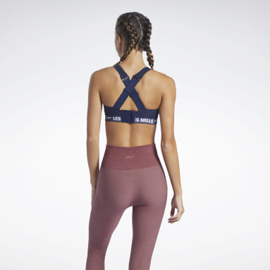 Women Studio Blue Les Mills® PureMove Plus Sports Bra Motion Sense ™