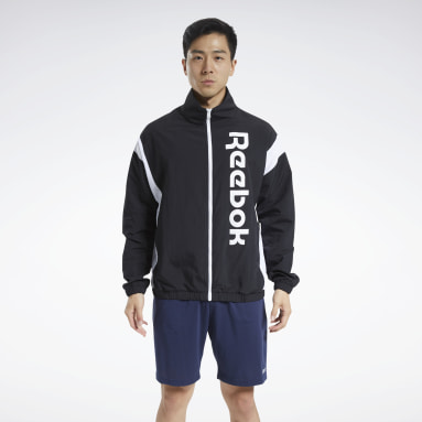 Men Training Black Training Essentials Linear Logo Jacket