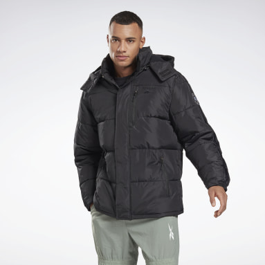 Men Hiking Winter Puffer Jacket