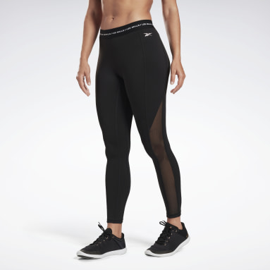 Kvinder Studio Black LES MILLS® High-Rise Tights