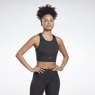 Frauen Dance Run High-Impact Bra Schwarz