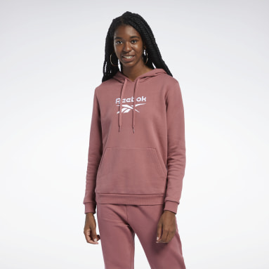 Dam Classics Röd Classics Foundation French Terry Hoodie