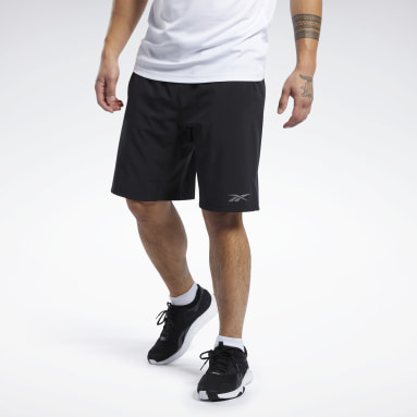 Men Running Black Speedwick Speed Shorts