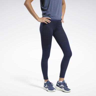 Frauen Fitness & Training PureMove Tight – Holiday Shine Motion Sense™ Blau